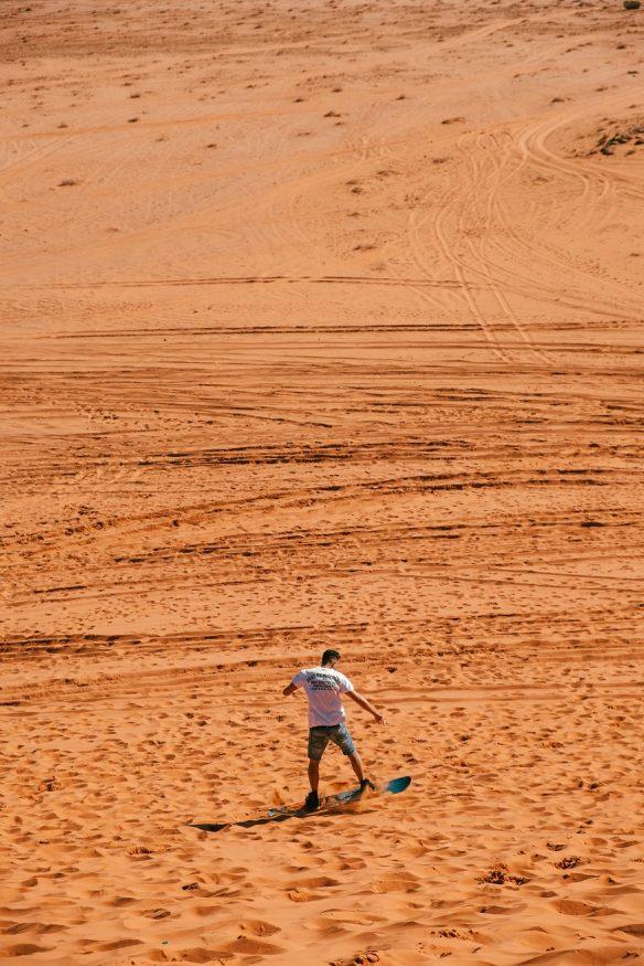 que faire en egypte - sandboard dans le désert