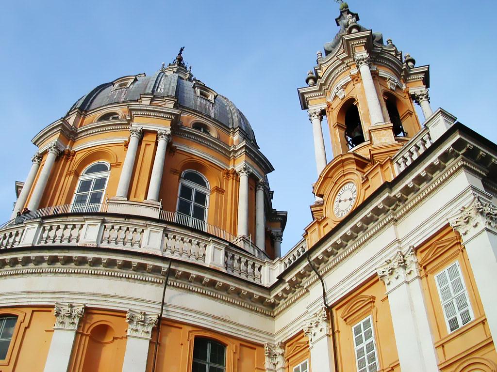 visiter Turin - La Basilique de Superga
