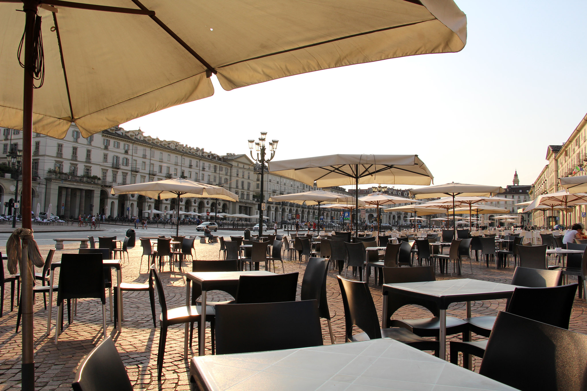 visiter Turin - Piazza Vittorio Veneto