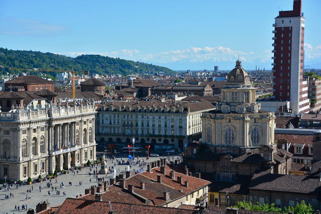 visiter Turin - Piazza Castello