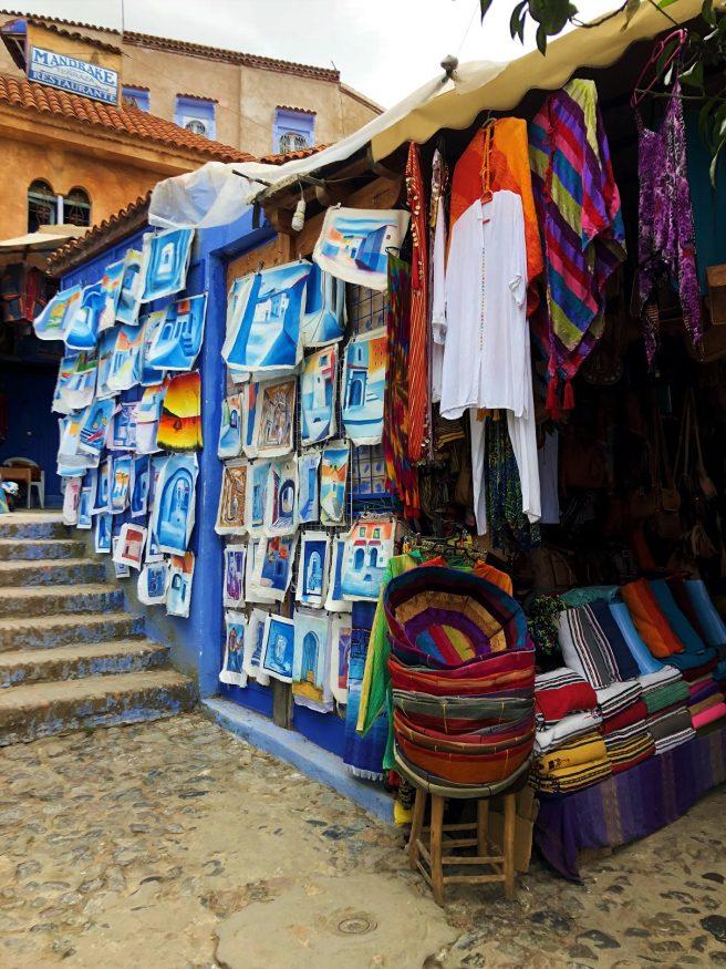 Sehenswürdigkeiten in Marokko - Chefchaouens Markt