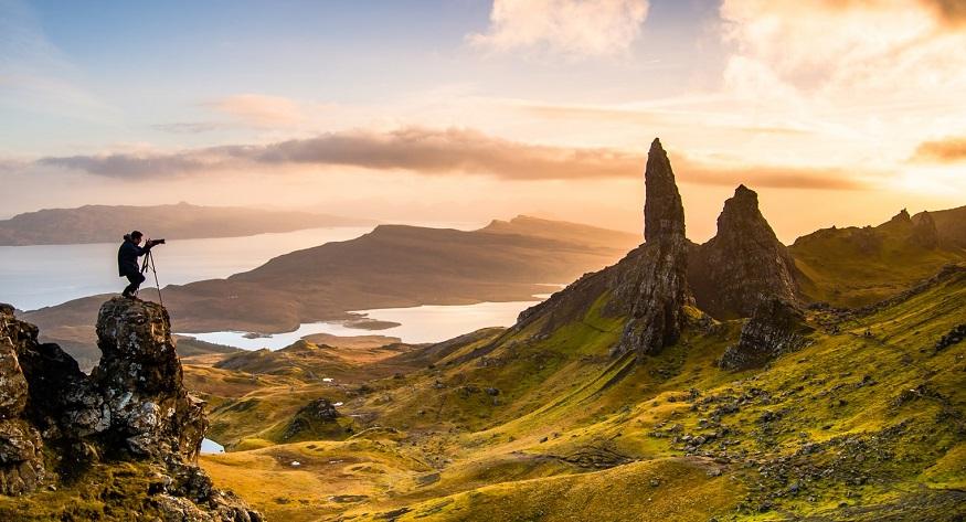 scotland road trip, Old Man of Storr, Isle of Skye
