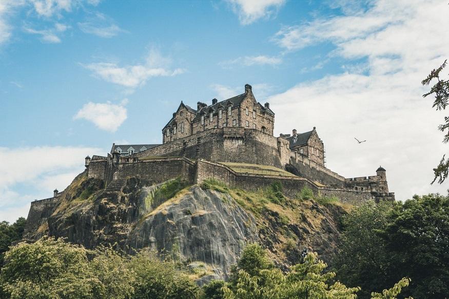 scotland road trip, Edinburgh Castle