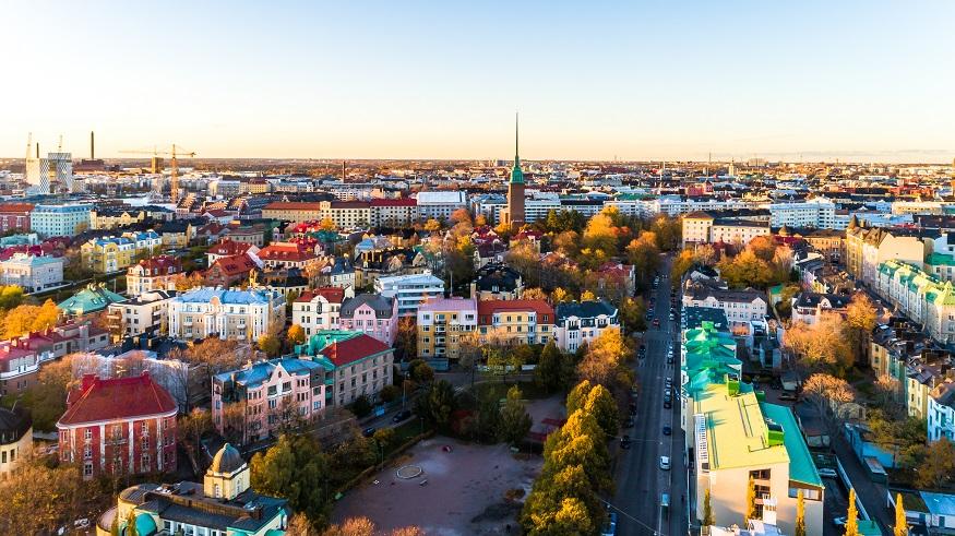 visiter helsinki - vue de la ville