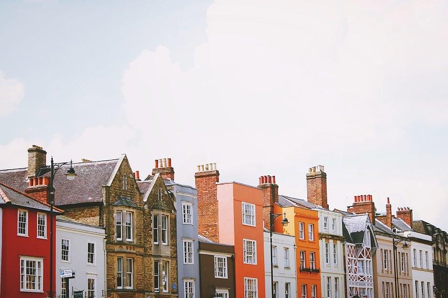 oxford cosa vedere - case colorate