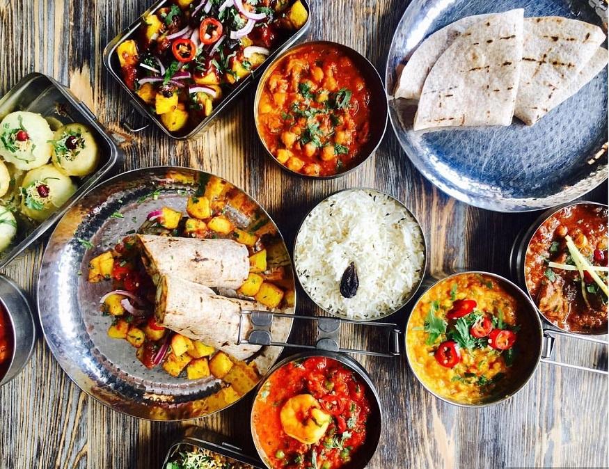 oxford cosa vedere - cibo indiano di Mowgli