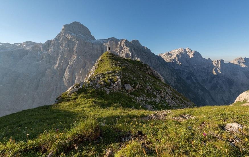 best national parks in europe,mountain peaks in triglav national park, slovenia