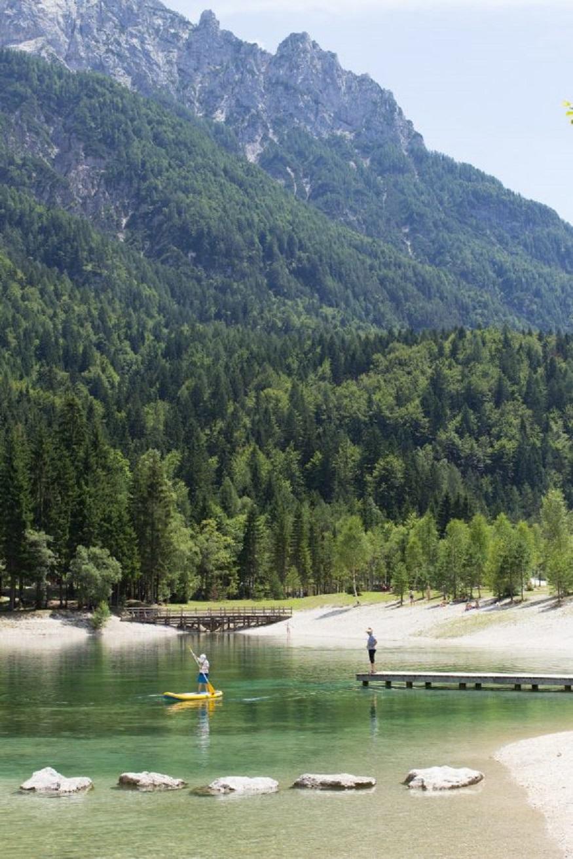 best national parks in europe, lake Bohinj in triglav national park, slovenia