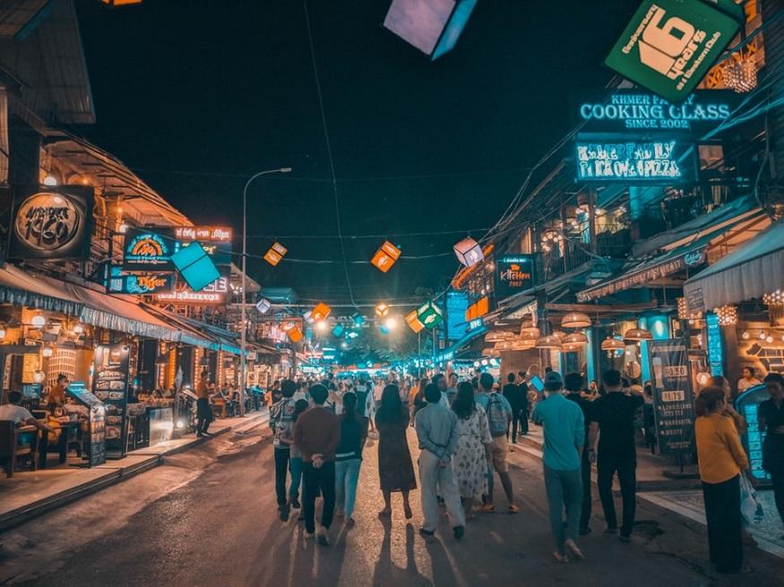 Weihnachten alleine in siem reap cambodia