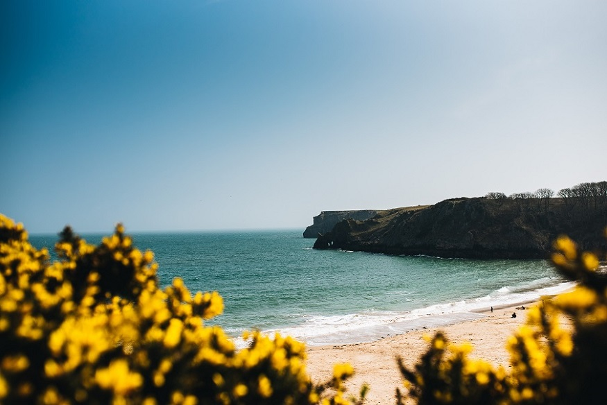 best national parks in europe, a secluded beach in pembrokeshire coast national park