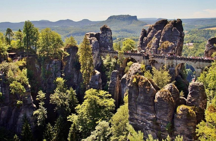 best national parks in europe,saxon switzerland national park