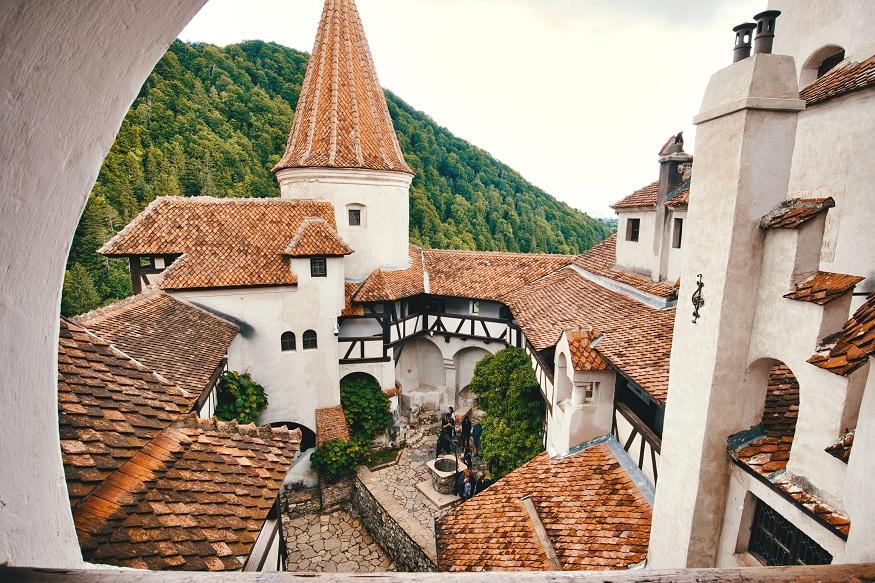 best places to visit in eastern europe, bran castle in bran, romania
