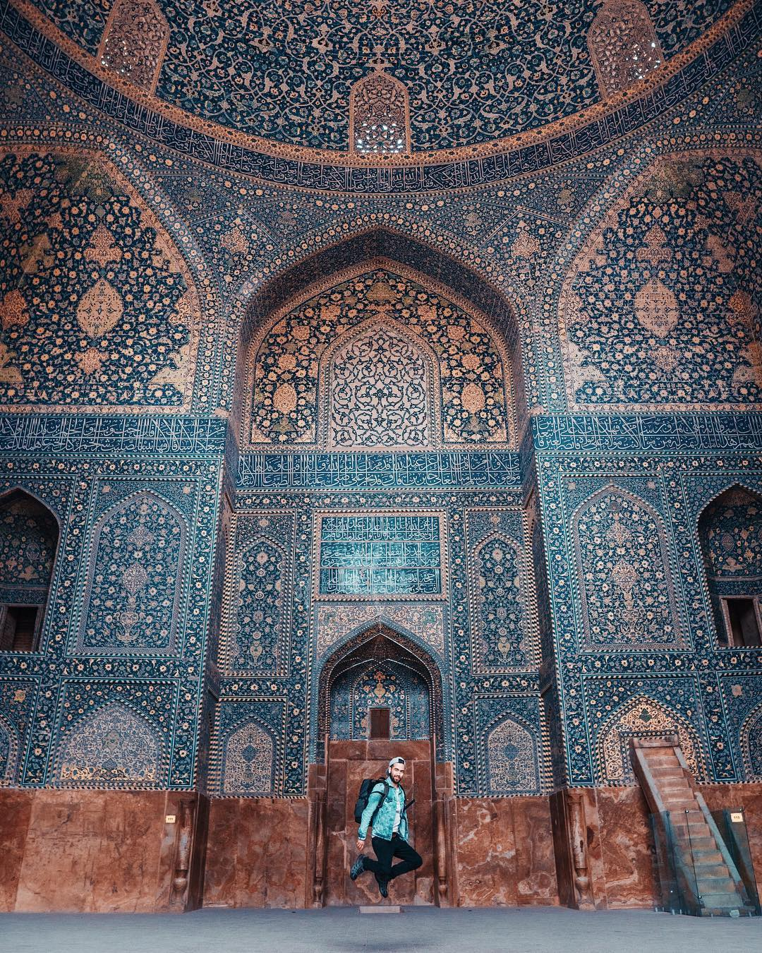 best backpacking destinations - Isfahan