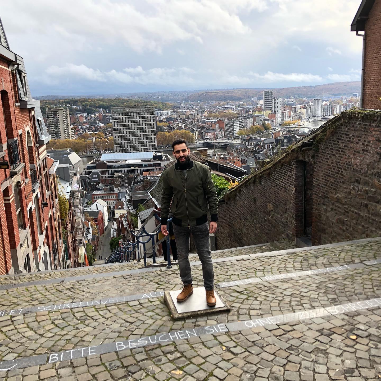 best backpacking destinations - Liège