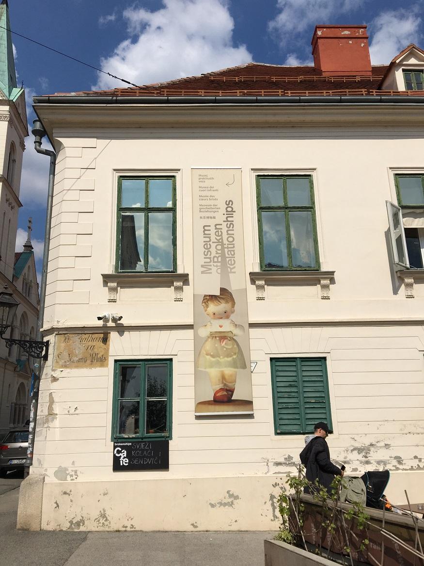 Visitare Zagabria - il museum of broken relationships