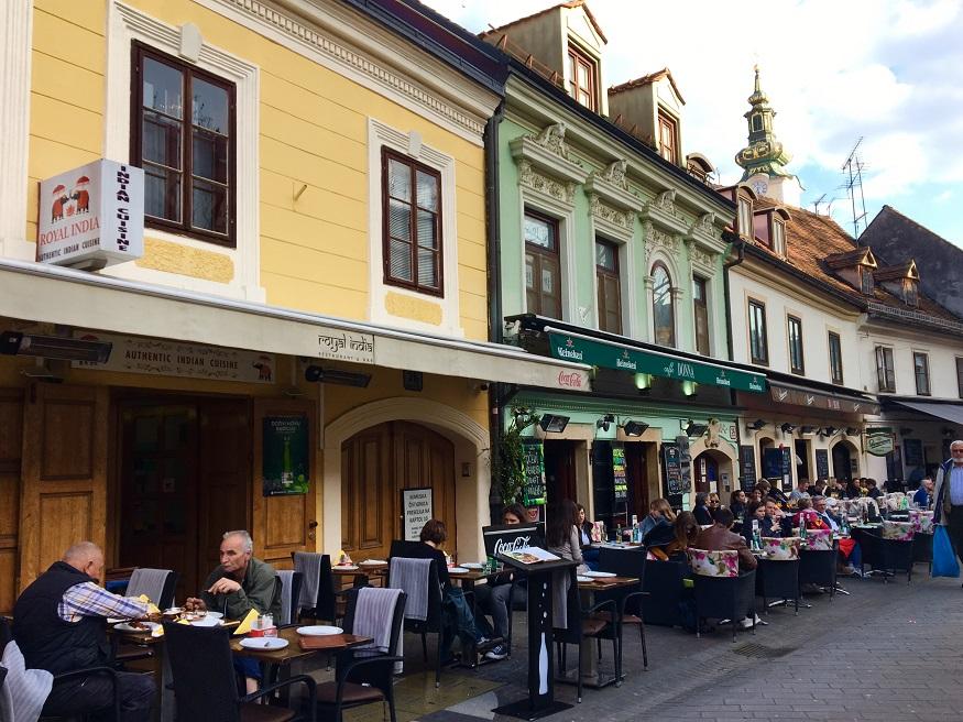 Visitare Zagabria - via Tkalčićeva