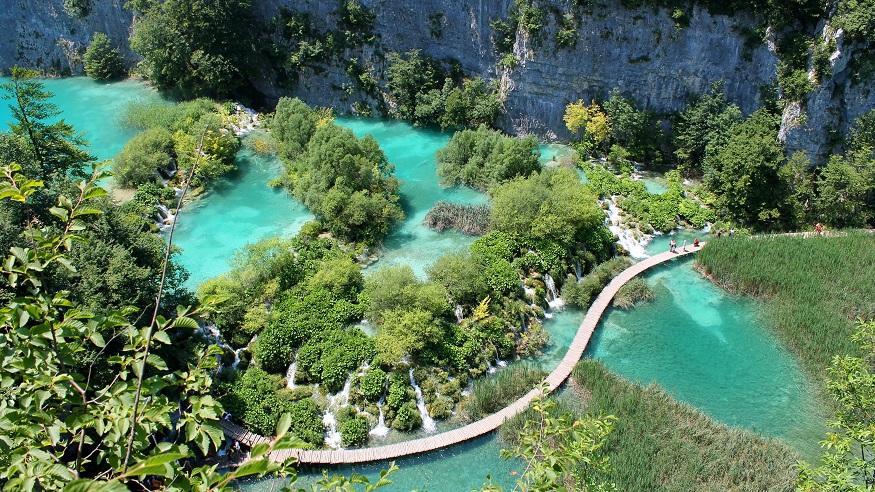 Visitare Zagabria - Parco Nazionale dei Laghi di Plitvice