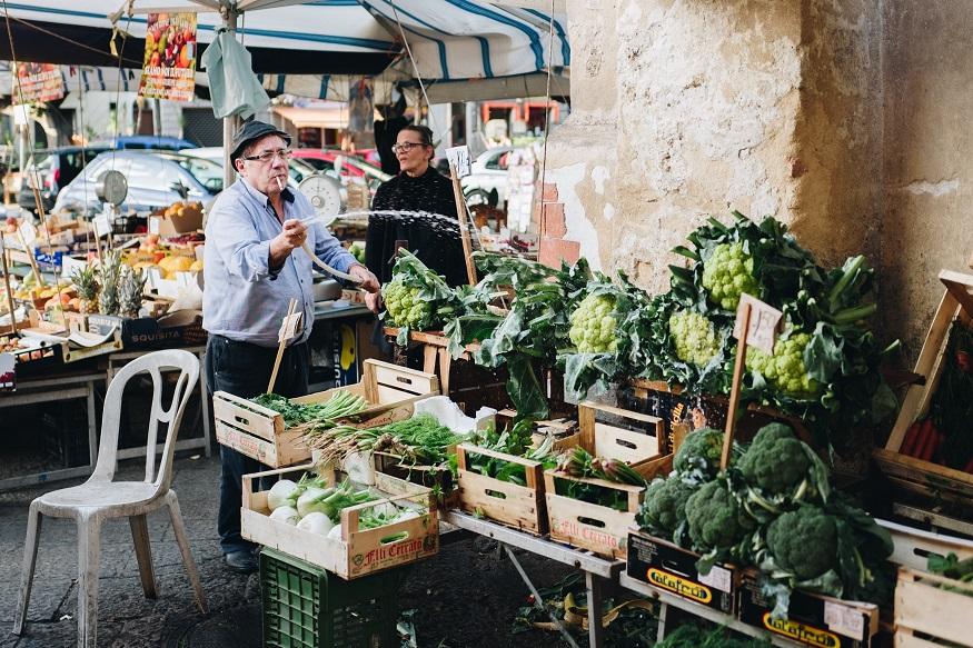 Cosa vedere in Sicilia - un mercato