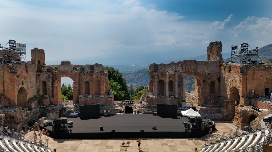 Cosa vedere in Sicilia - teatro greco di Taormina