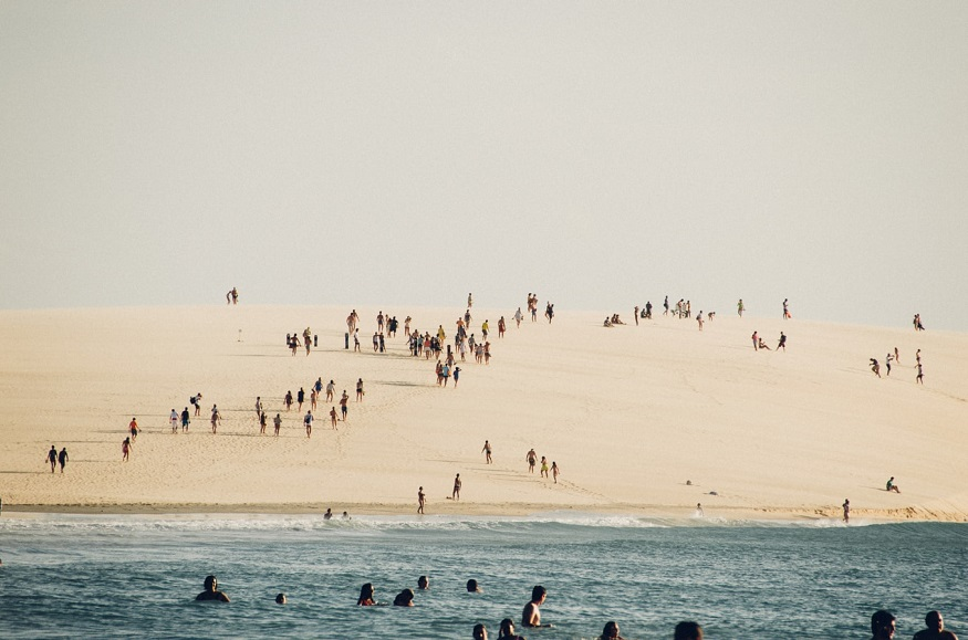 best backpacker parties, beach party at Jericocoara, Brazil
