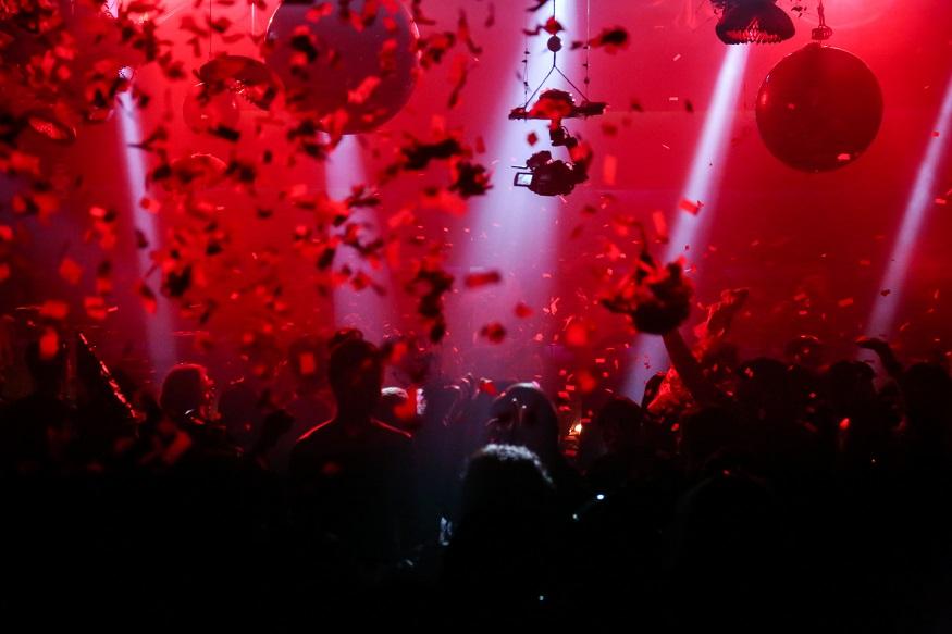 Berlin LGBT nightlife - flower party in a club