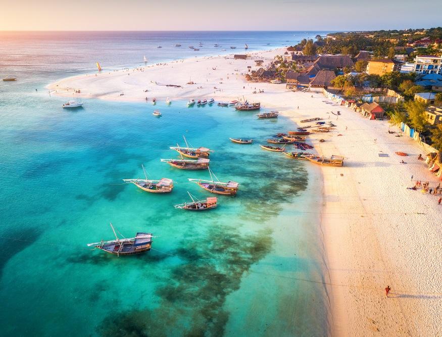best backpacker parties, beach in Zanzibar, Tanzania