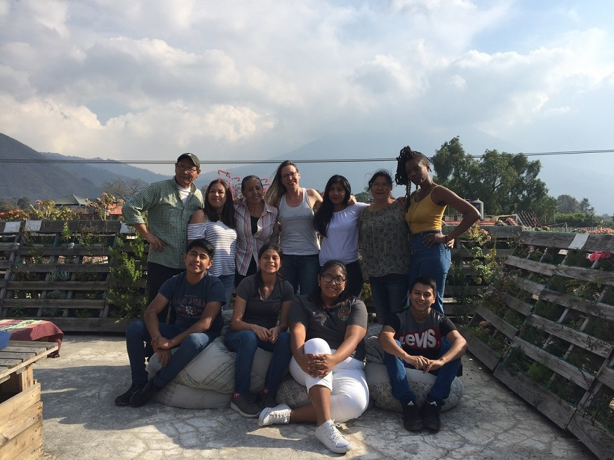female hostel owners, The Purpose Hostel team - Tatjana top middle