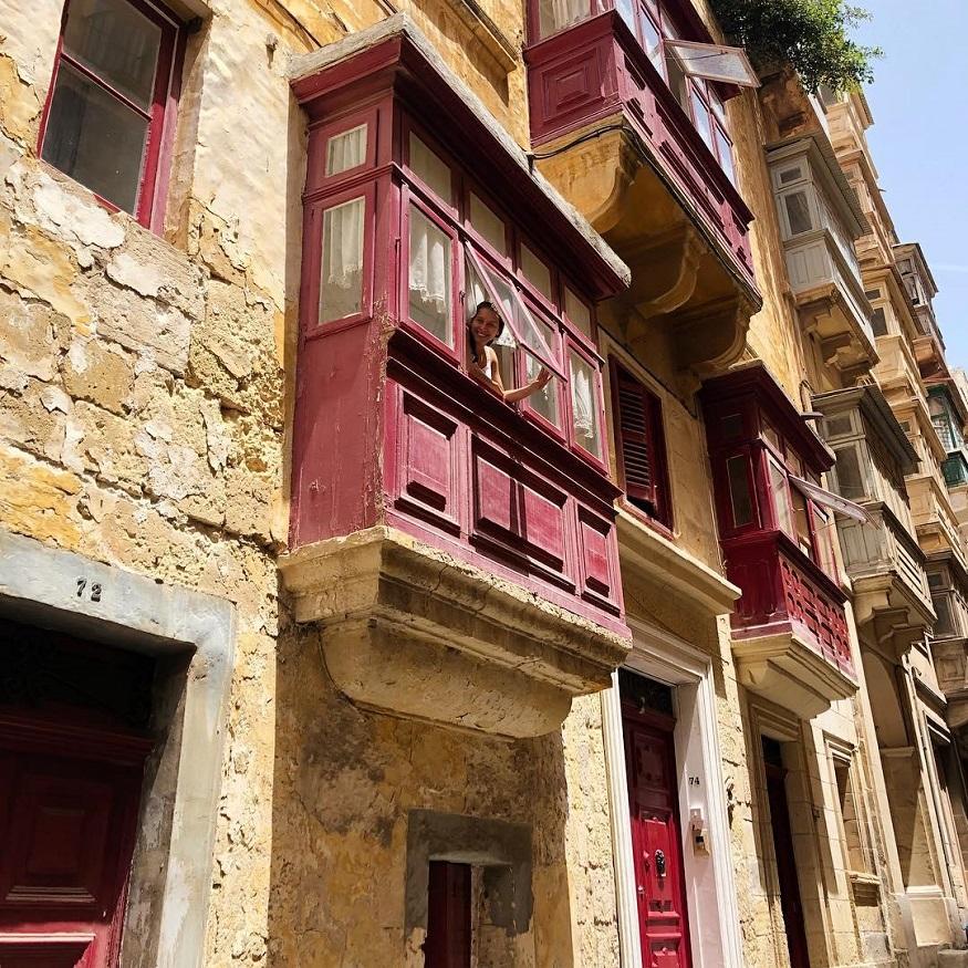 underrated european cities - house in Valletta - Malta