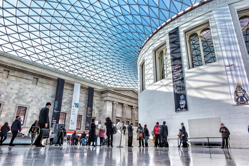 how to cure wanderlust, british museum inside